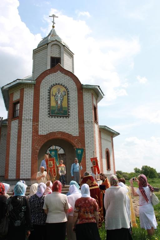 Храм в честь Святителя Николая д. Свислочь