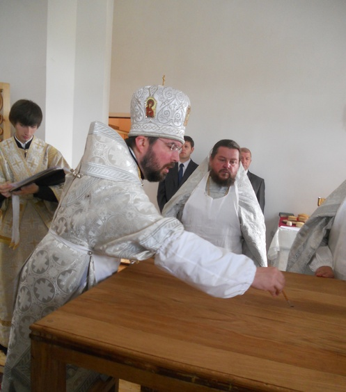 Освящение храма в честь Святителя Николая деревня Свислочь